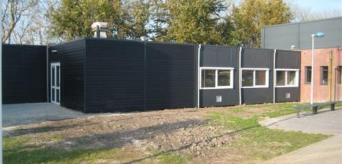 Klaslokalen voor het Marne College Bolsward